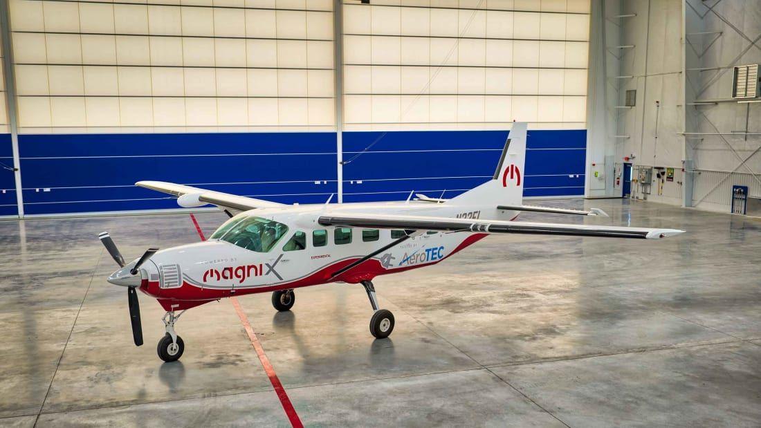 Terbesar pesawat semua-elektrik untuk make penerbangan sulung